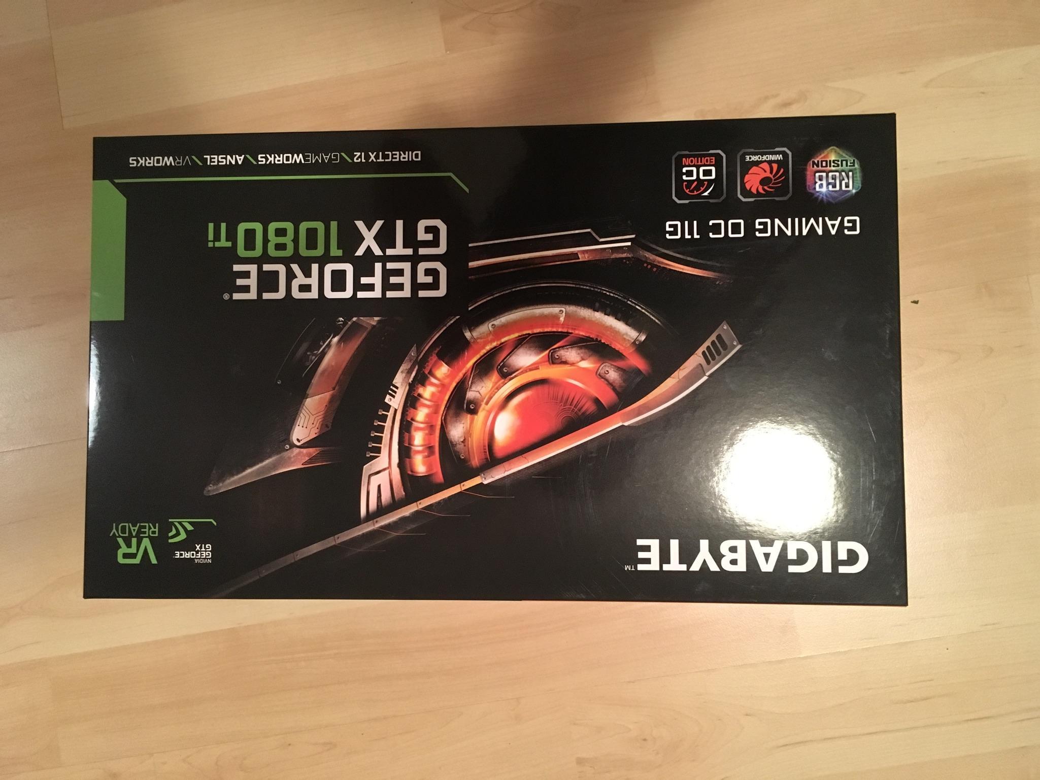 Nvidia Gigabyte Geforce Gtx 1080 Ti Neu In 81673 Munchen For 760 00 For Sale Shpock