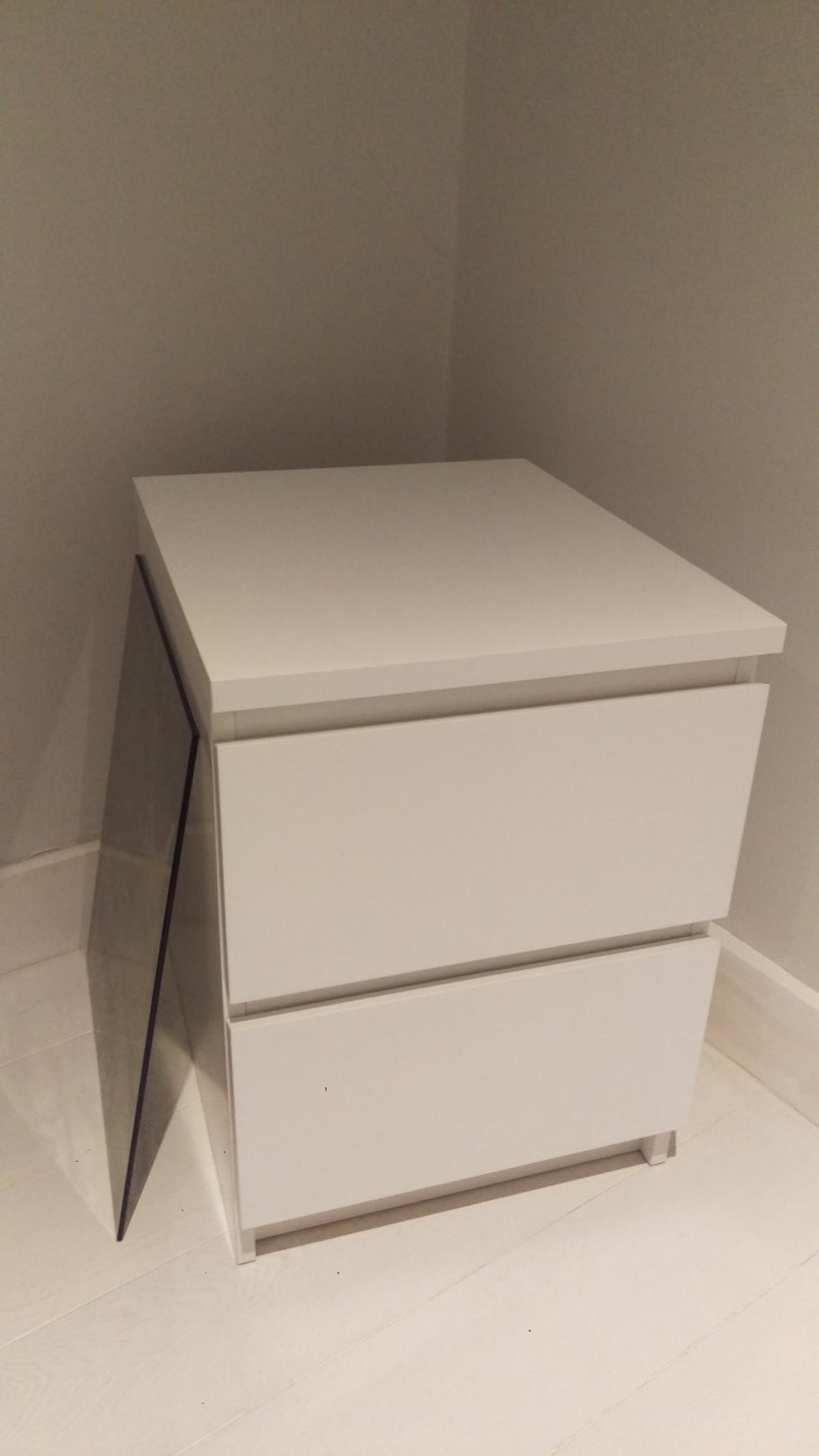 Ikea Malm 2 Draw Chest Bedside Table In E7 London For