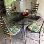 Glass Table And 4 Chairs In Ls17 Leeds For 40 00 For Sale Shpock