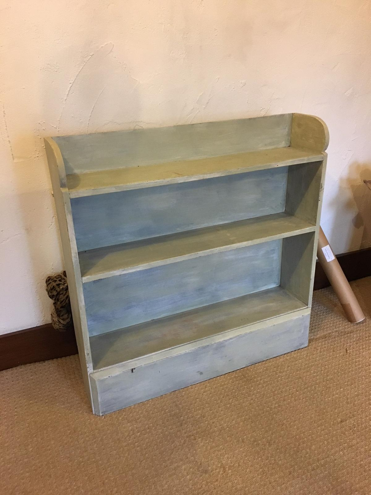 Wooden Painted Bookcase