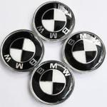 Bmw Black And White 68mm Set Of 4 Wheel Caps In Ls11 Leeds For 10 00 For Sale Shpock