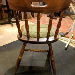4 Vintage Retro Bow Back Pub Dining Chairs In East