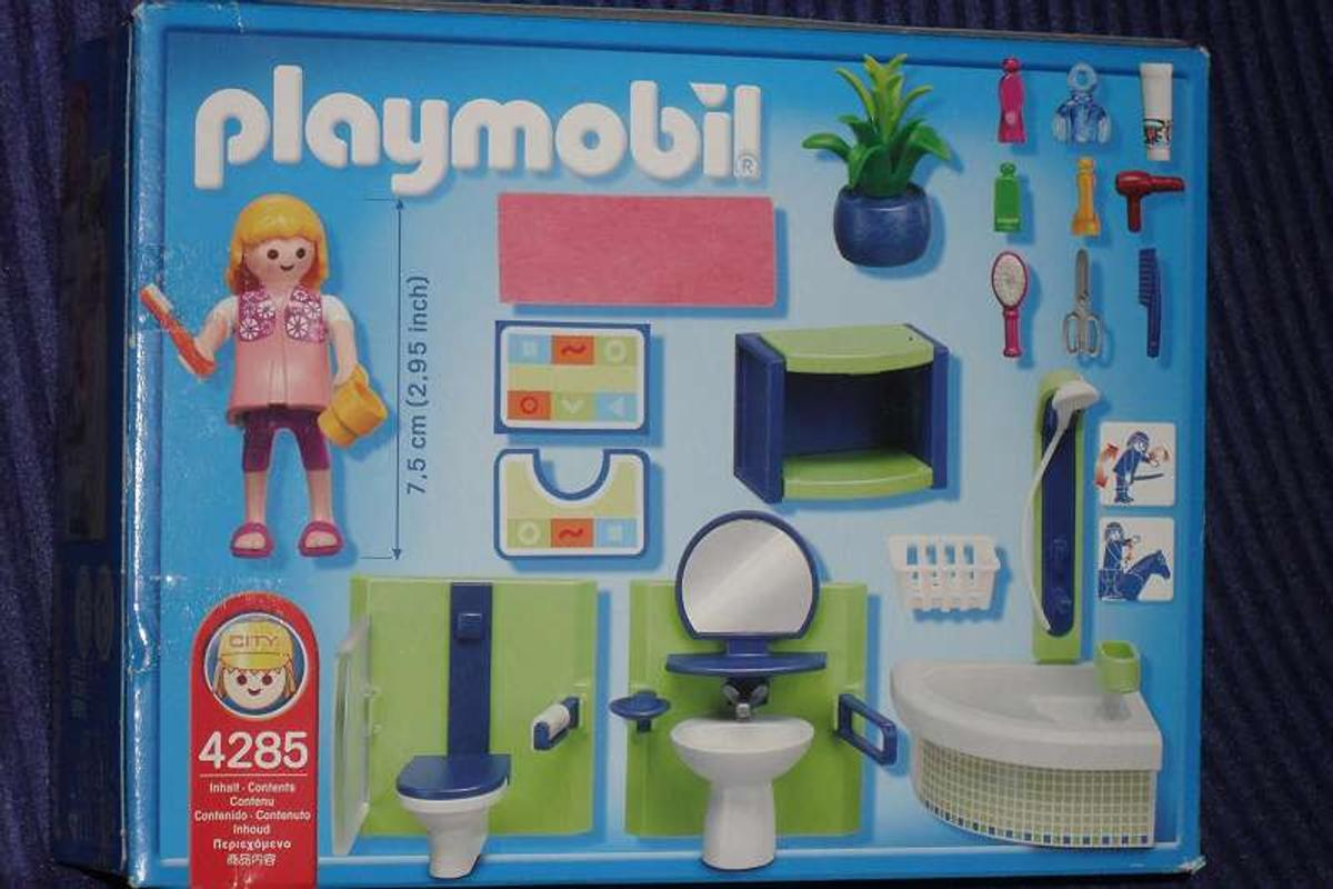 Playmobil 4285 City Life Badezimmer Mit Eckwa In 1170 Wien For 10 00 For Sale Shpock