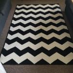 Black And White Rug In Wf9 Wakefield For 20 00 For Sale Shpock
