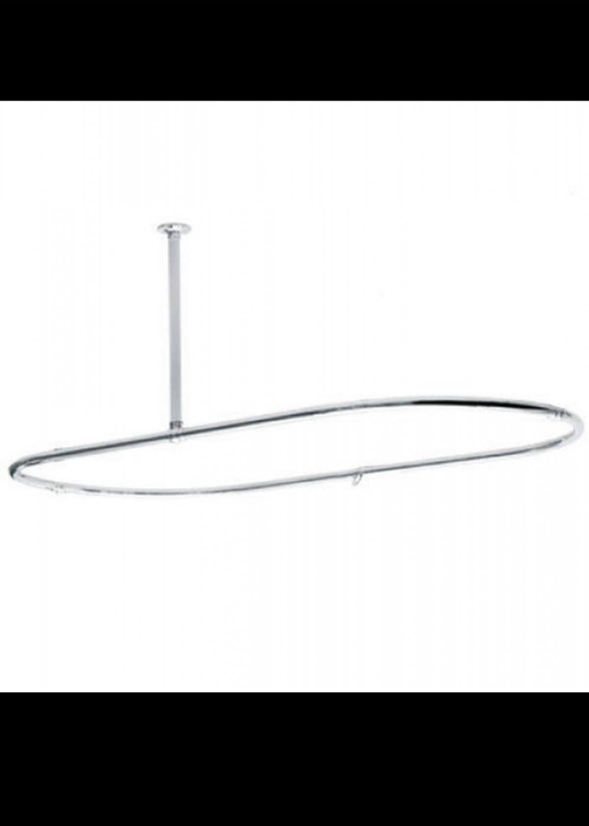 Bathstore Oval Shower Curtain Ring