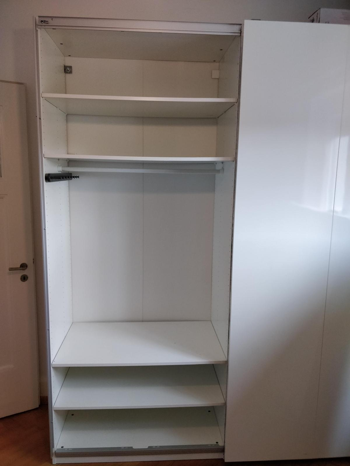 armoire pax ikea double blanche in