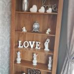 French Farmhouse Solid Oak Large Bookcase