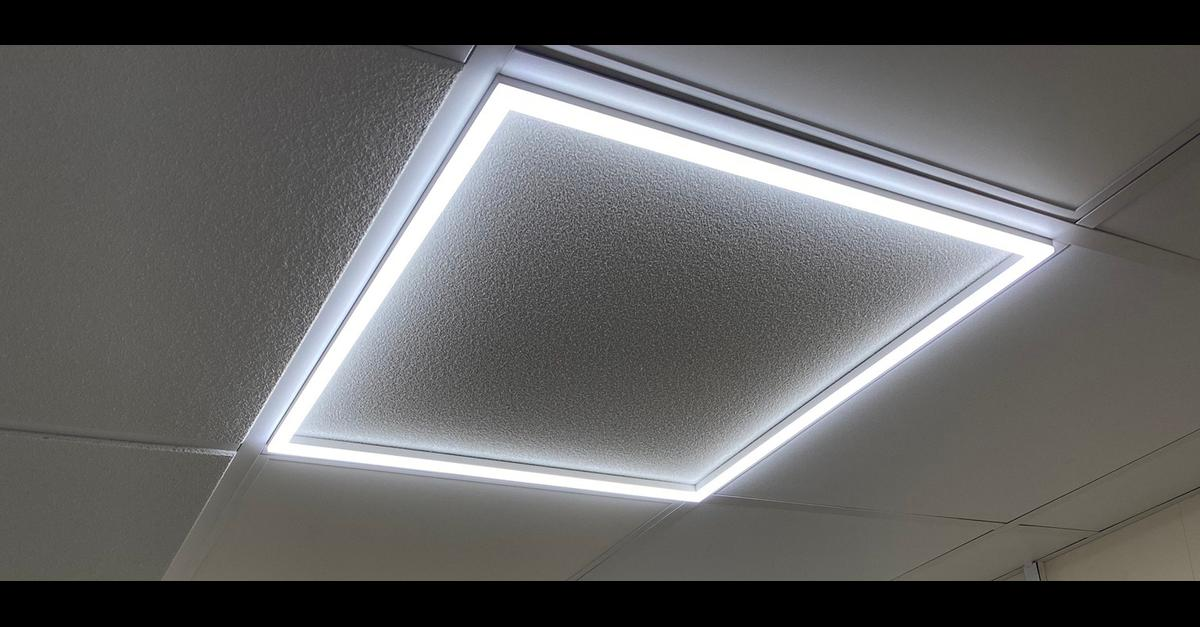 suspended ceilings inc tiles and led