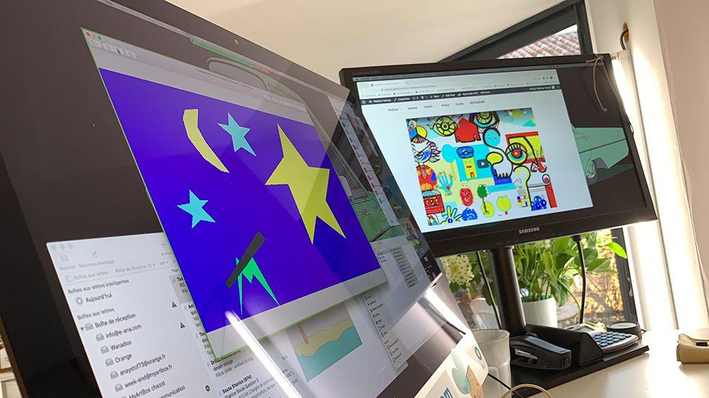 Activité de Cohésion Digitale à distance fresque télétravail exercice outil de leadership collaboratif en distanciel