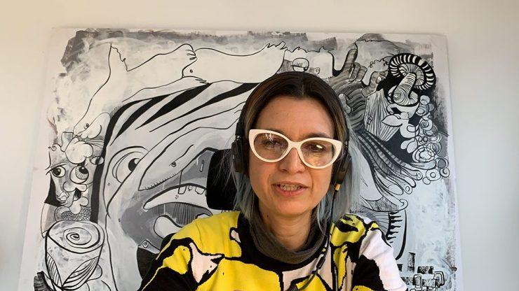 Idée Animation Fresque en Télétravail par aNa artiste d'art social sur webinaire.games
