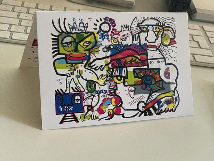 Communication Collaborative, Invitation Collaborative, Carte de Voeux Collaborative, Carte d'anniversaire Collaborative
