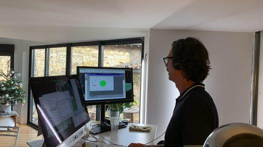 Idée de Séminaire Virtuel télétravail en Visioconférence à distance