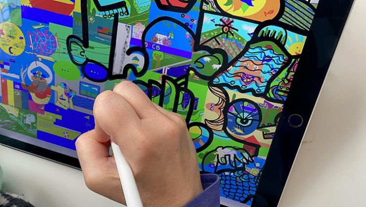 Artiste Animation Digitale design thinking outil on-line