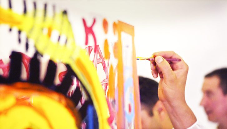 Atelier Peinture 2 Activités Team Building Originales en 1