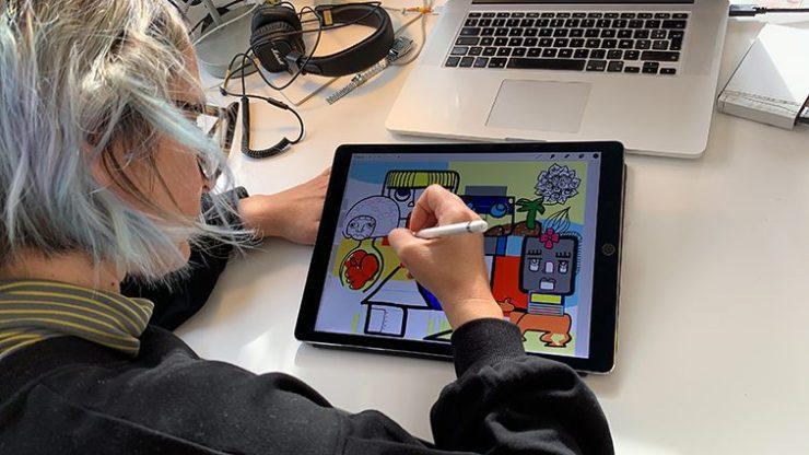Fresque Digitale Droits de l'enfant