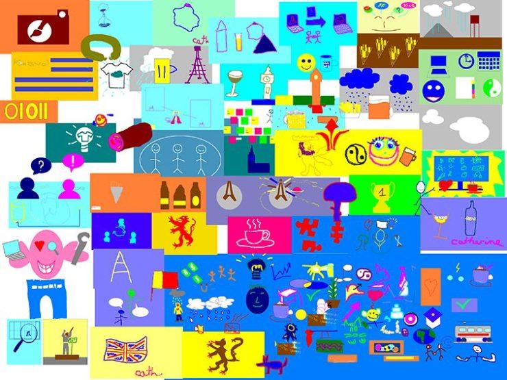 Idée Animation Fresque Télétravail