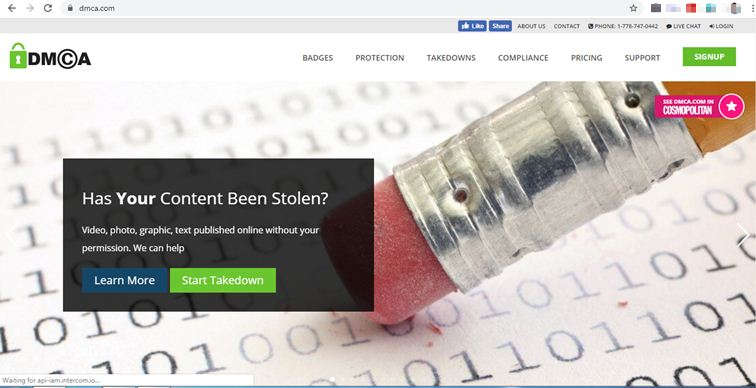dmca-home-page