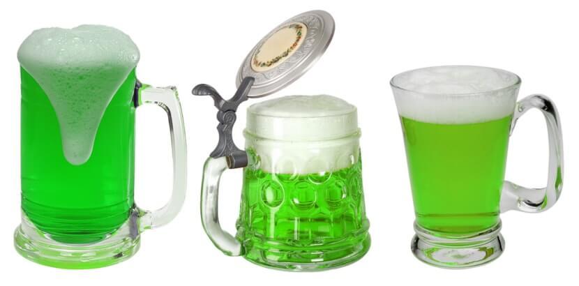 Dzień świętego Patryka - zielone piwo