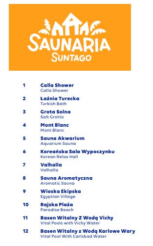Park of Poland - strefa Saunaria