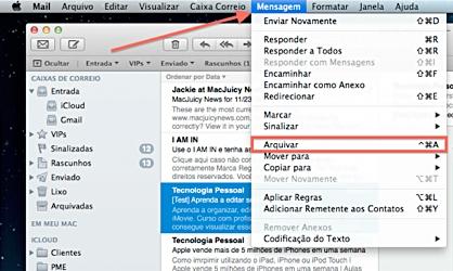 Arquive mensagens menos importantes e limpe sua caixa de entrada