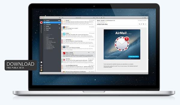 Airmail para mac
