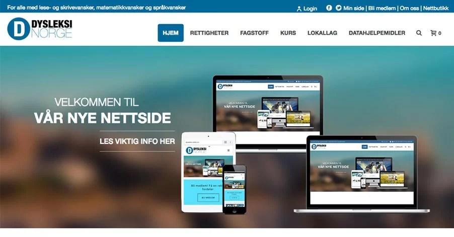 51315891 Gratulerer med ny nettside til Dysleksi Norge | Webkonsepter.no