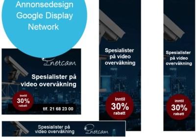 Retargeting annonse kampanje i Google Display network