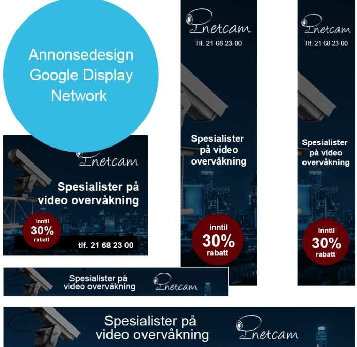 Retargeting annonse kampanje i Google Display network