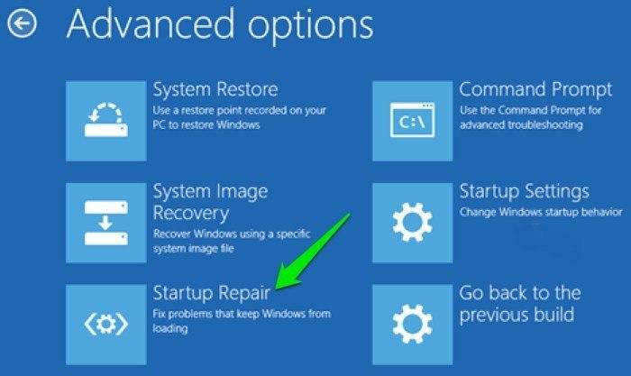 Windows-Wont-Boot-Startup-Repair-option