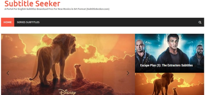 Subtitle Seeker Site