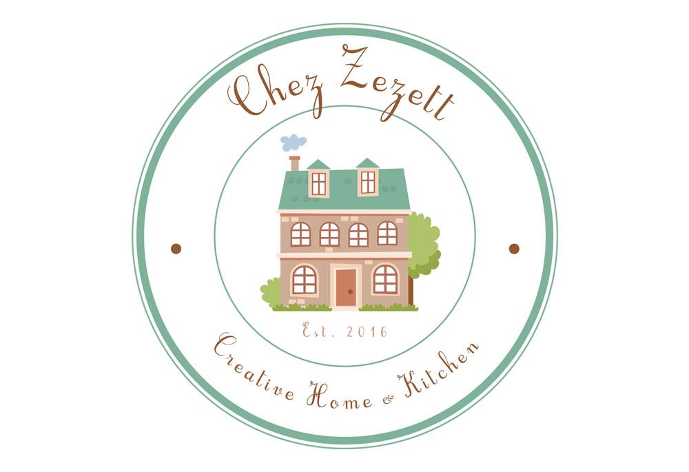 Chez Zezett logo & branding