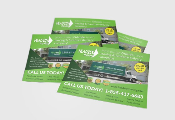 Headway Moving flyer