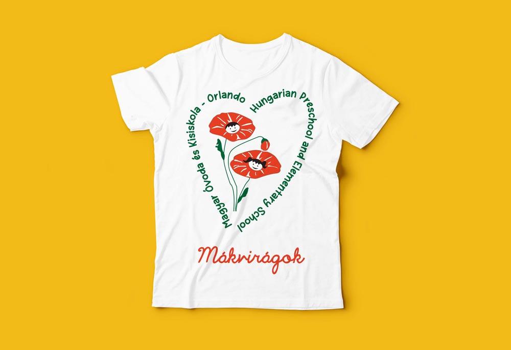 Mákvirágok t-shirt