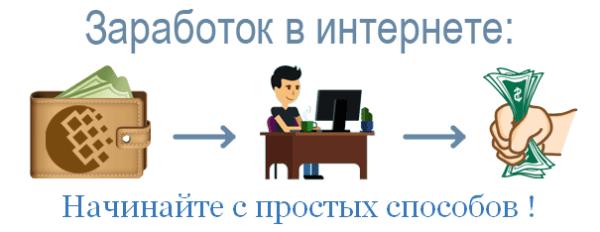 Заработок в сети