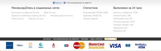 Сколько стоят лайки по версии VKTarget.ru Кликните для увеличения картинки