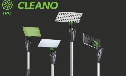 Cleano también está disponible en tamaños pequeños de 30 y 10 cm