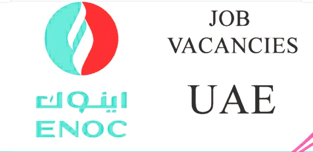 Engineer and receptionist Jobs in Emirates National Oil Company (ENOC).