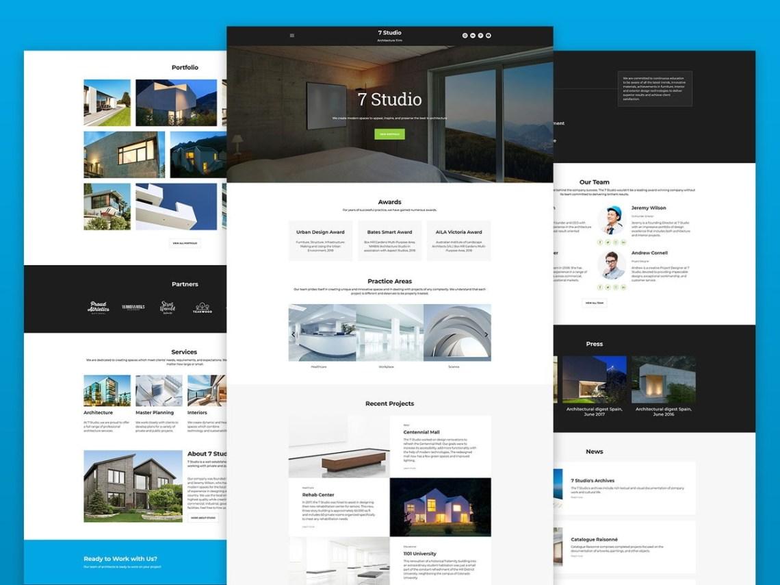 10 Best Architecture Firm Websites 2020 Updated Weblium