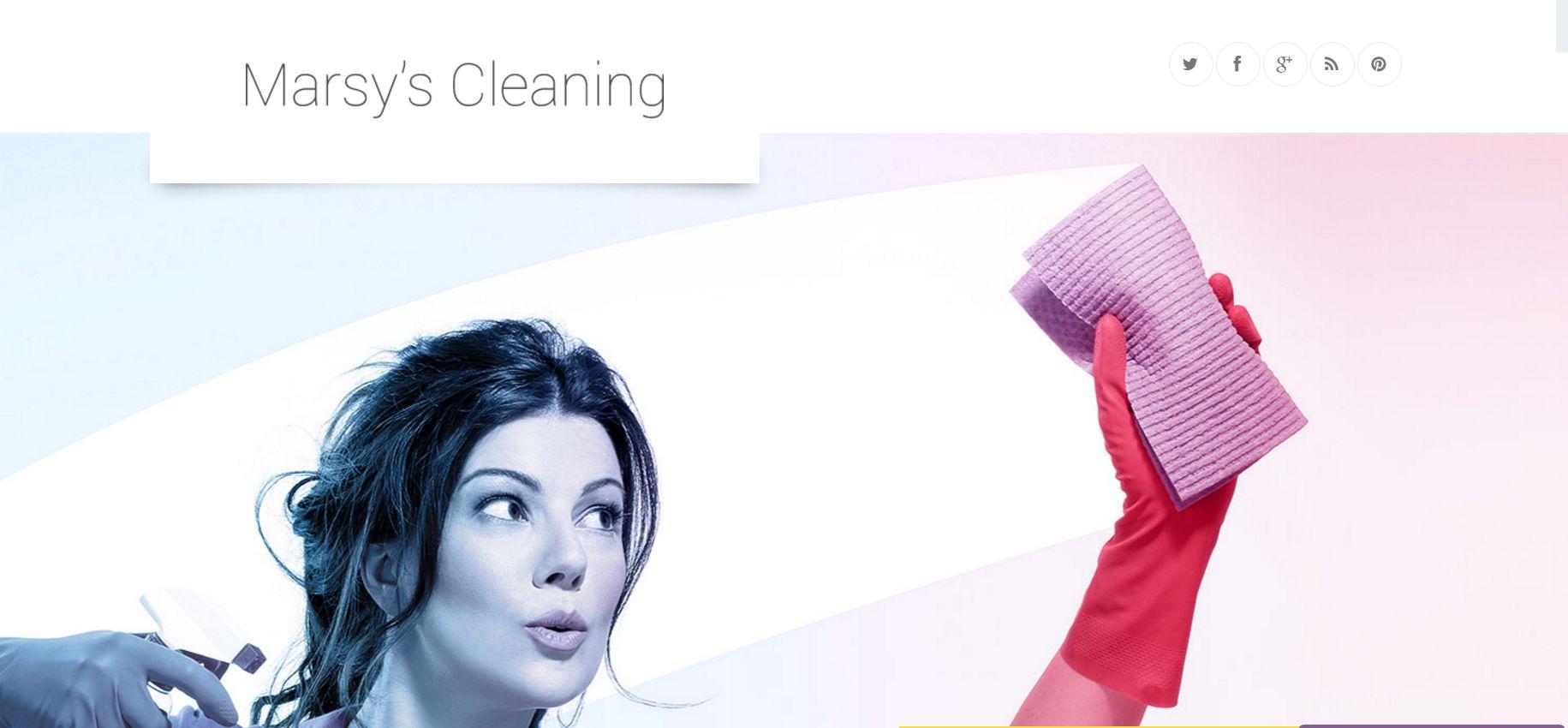 Marsy's Cleaning WordPress Theme
