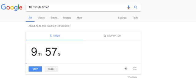 google-timer