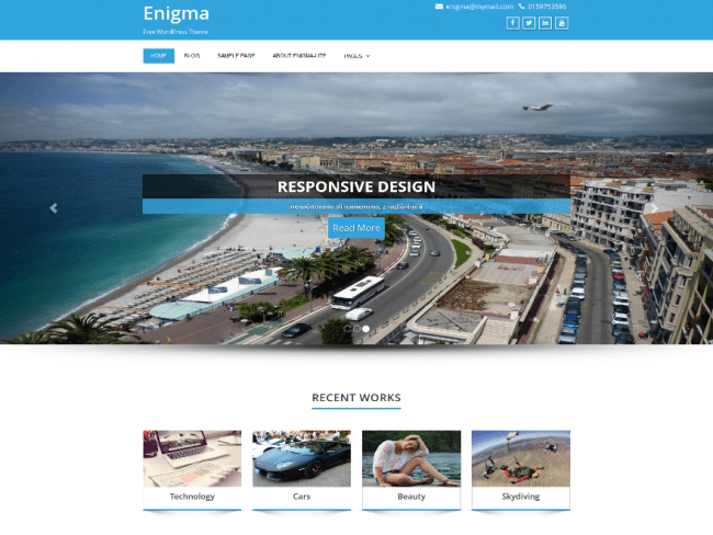 enigma-wordpress-theme