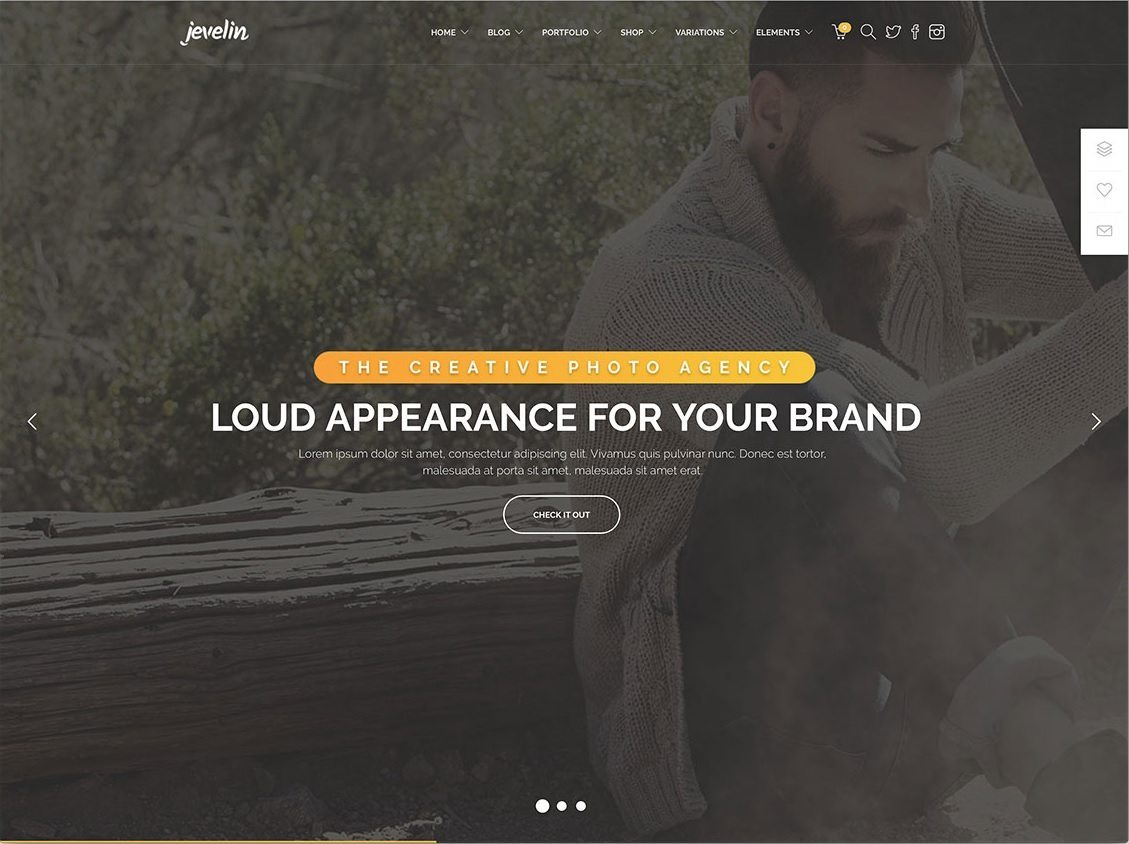 jevelin-hipster-photography-website-template