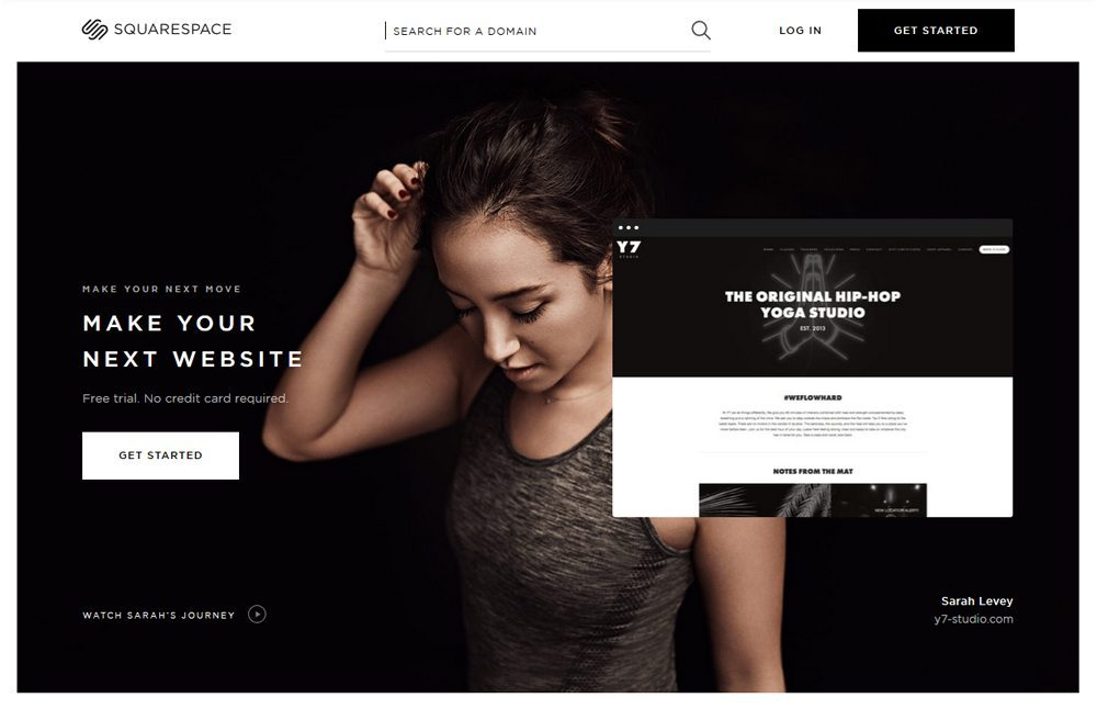 Develop A Free Blog For Writers through squarespace