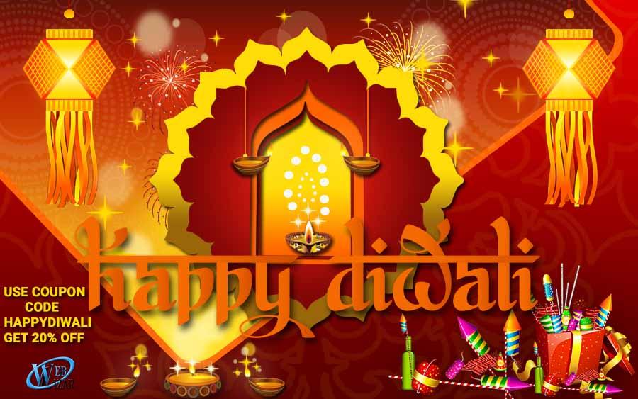 A Very Happy And Prosperous Diwali From Team Weblizar