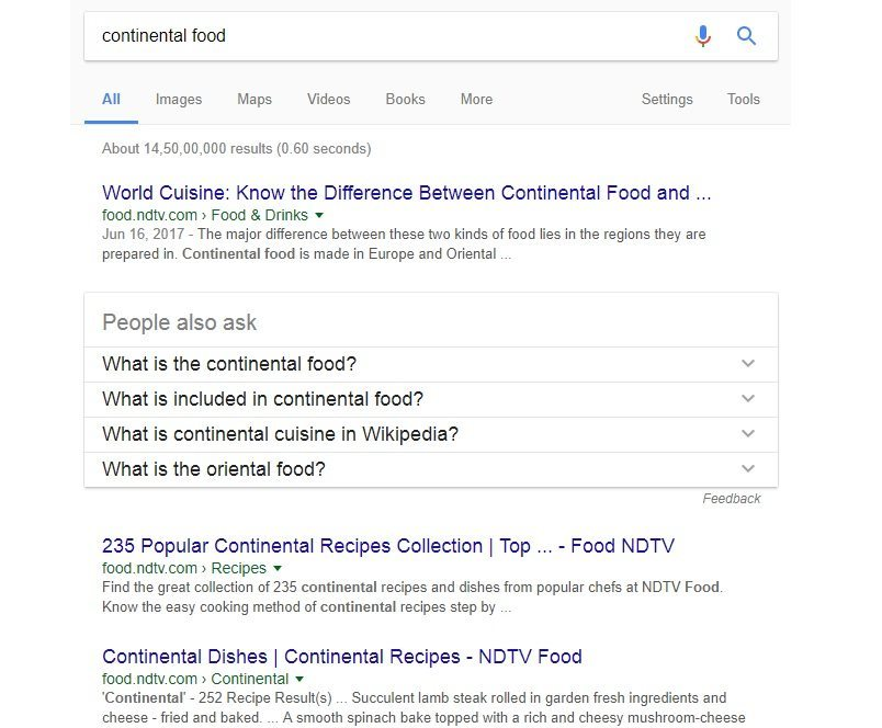 displaying a search on google to understand how rankbrain works