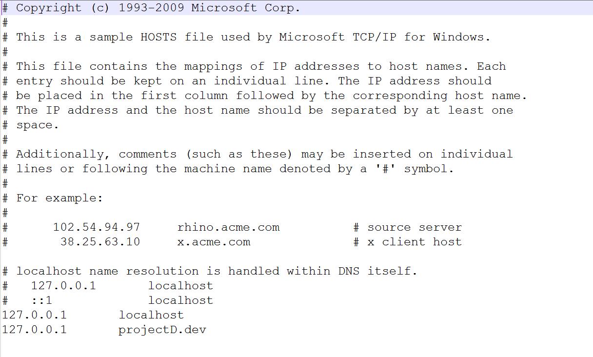 How to Setup Virtual Host for Laravel Through Xampp Wamp - Weblizar