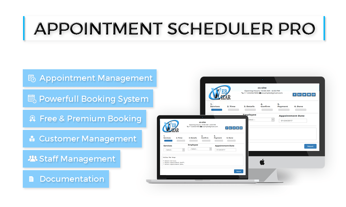 11 WordPress Plugins To Enhance Your WordPress Site appointment scheduler pro