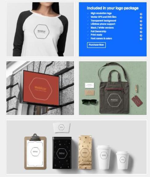 Make Online Business Logo One Minute Step Step