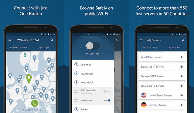NordVPN-Android-APP-Interface