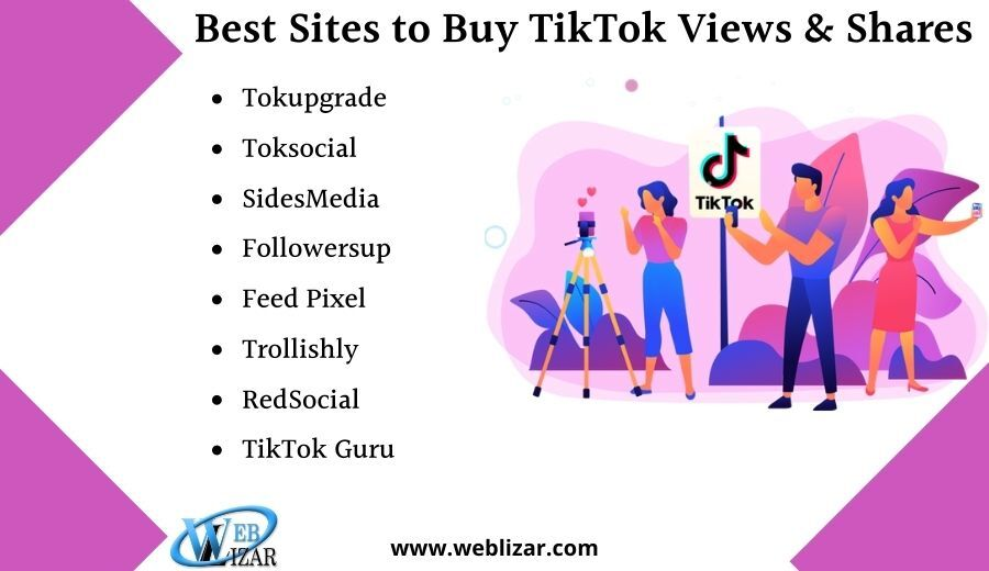 Best Sites To Buy Tiktok Views  And Shares